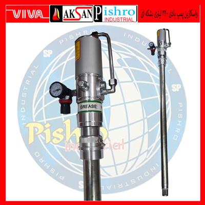 واسکازین-پمپ-بادی-220-لیتری-بشکه-ای